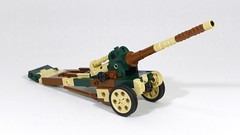 Canon de 145 L modèle 1916 St Chamond (Rebla) Tags: rebla lego wwii ww2 world war 2 ii french vehicles canon de 145 l modèle 1916 st chamond