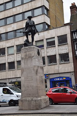 DSC_4454 City of London High Holborn The Royal Fusiliers War Memorial that was erected in 1922 (photographer695) Tags: city london holborn war memorial high the royal fusiliers that was erected 1922
