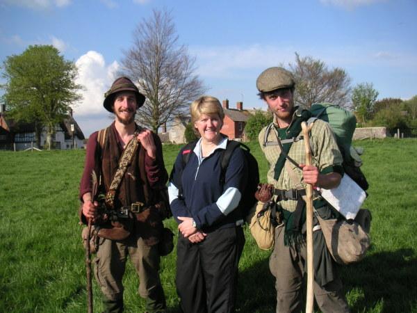 Ed Clare Balding Will Avebury 2009