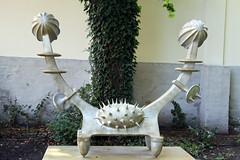 Ein Körper, zwei Seelen (mitue) Tags: 2001 potsdam temporär skulpturengarten brunogironcoli nks villaschöningen