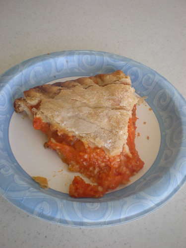 Joyce's apricot pie