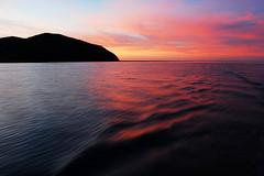 Sailing (Larry He) Tags: travel sunset landscape island coast australia east queensland   whitsunday