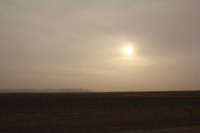 Desierto camino de Merzouga