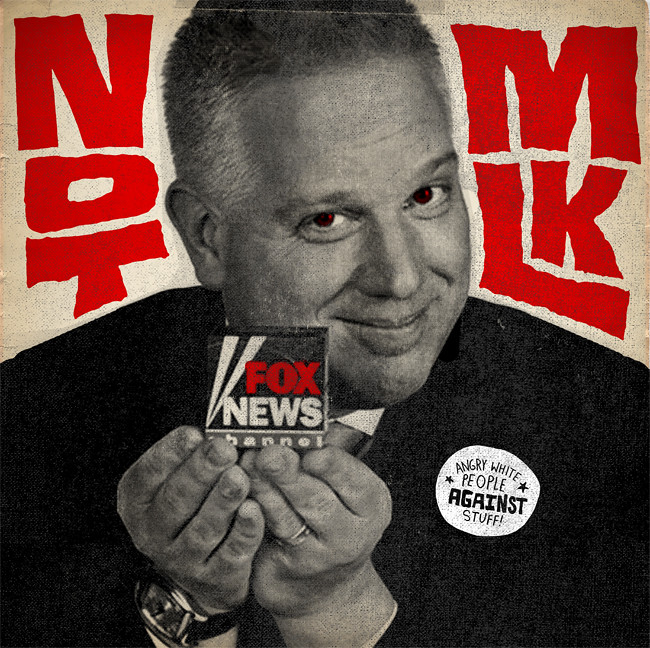 Glenn Beck is NOT Martin Luther King, Jr.