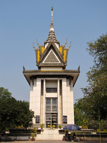 Killing Fields - Memorial Stupa