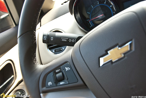 Chevrolet Cruze Interior 2010. 2011 Chevrolet Cruze Interior