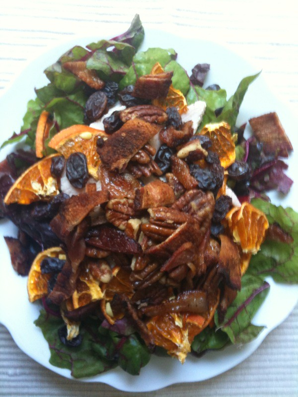Lunch salad, July 28