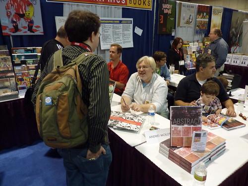 Blake Bell, Andrei Molotiu, Ben Schwartz - Fantagraphics at Comic-Con 2010