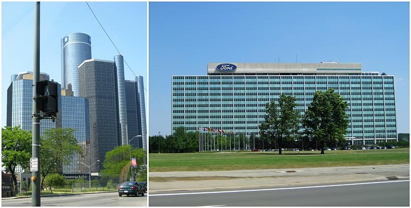 GM & Ford in Detriot