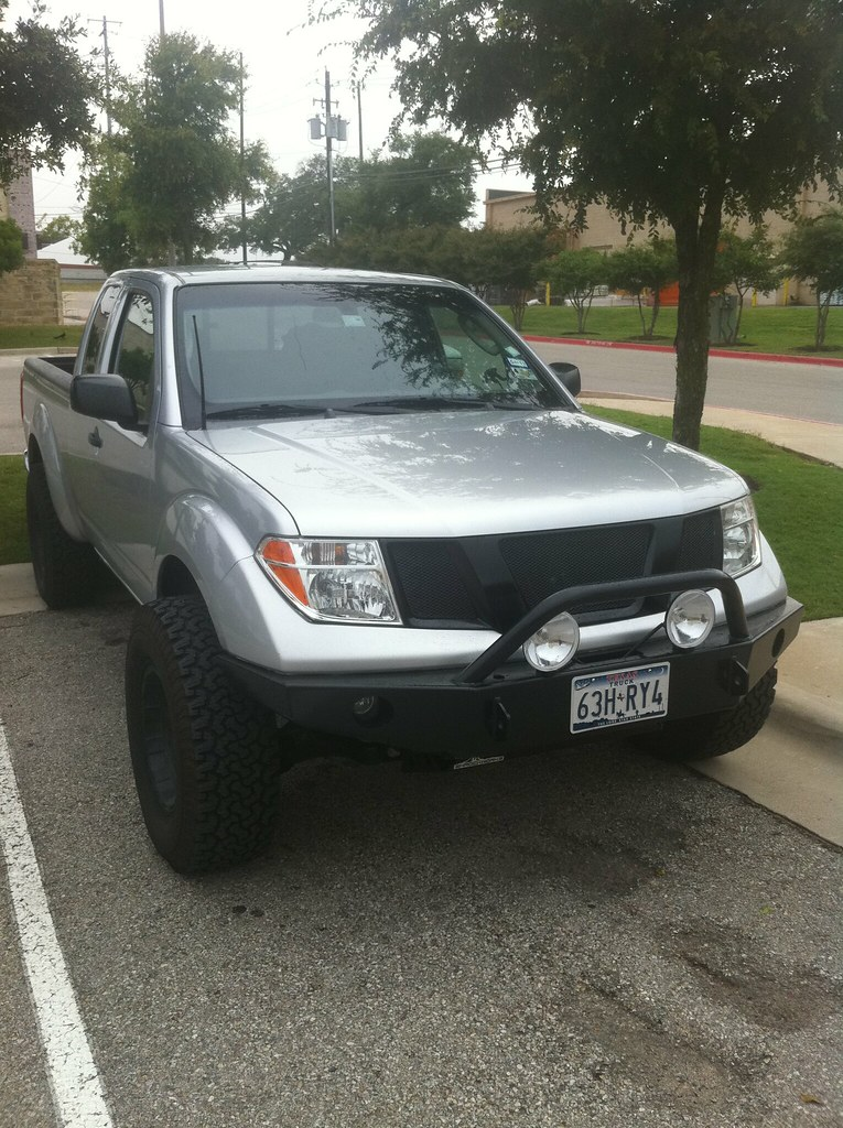 Painted The Front Grill Piece Nissan Frontier Forum