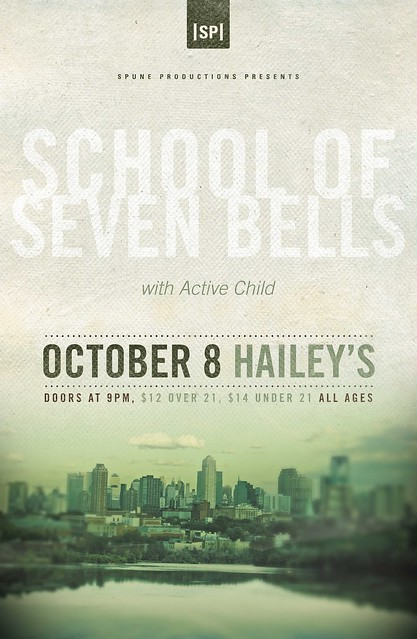 School of Seven Bells poster