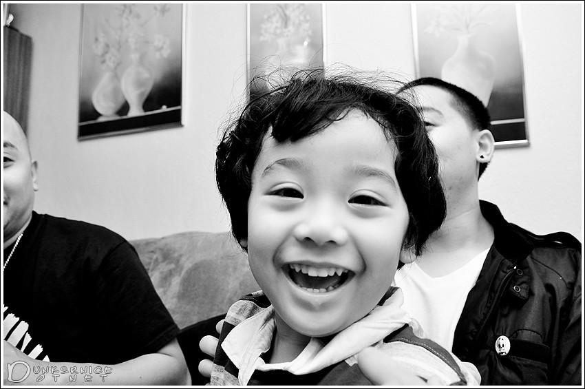 Smile B&W.
