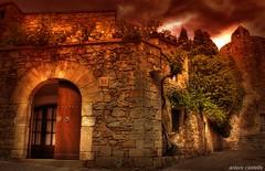 DSC9937 Pals-Girona (antoni63) Tags: photoshop pals catalonia medieval girona catalunya hdr pueblos gerona antoni63