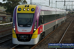 V/Locity at Newport (LowndesJ515) Tags: new train south victoria newport passenger geelong vline vlocity vl42