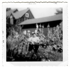 fairly scary (unexpectedtales) Tags: old white abstract black halloween strange vintage wonderful found weird early photo scary funny shot antique snapshot surreal snap odd photograph vernacular unusual bizarre enigmatic peculiar peculier unexpectedtales vernaculat