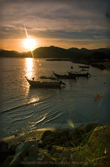 (Micartttt) Tags: sunset sea silhouette digital sunrise boats island photo nikon foto photographer shore malaysia tropical digitalcamera penang dslr digicam digi tropicalcountry abigfave platinumphoto d80nikond80 damarlaut micarttttworldphotographyawards micartttt bestofmywinners