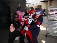 Blade Joker and Harley (bigmike_779) Tags: cosplay joker blade harleyquinn daywalker bades otakon2010