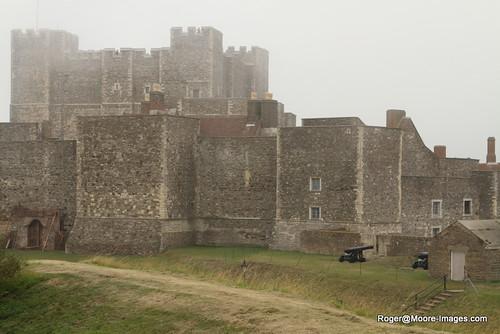 Dover Castle w/fog