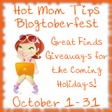 Hot Mom Tips Blogtoberfest