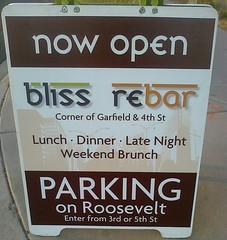 Bliss / ReBar in Phoenix