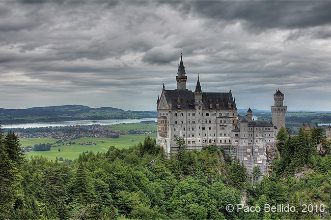 Vista del castillo de Neuschwanstein desde el Marienbrücke © Paco Bellido