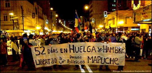 manifestación mapuche 3