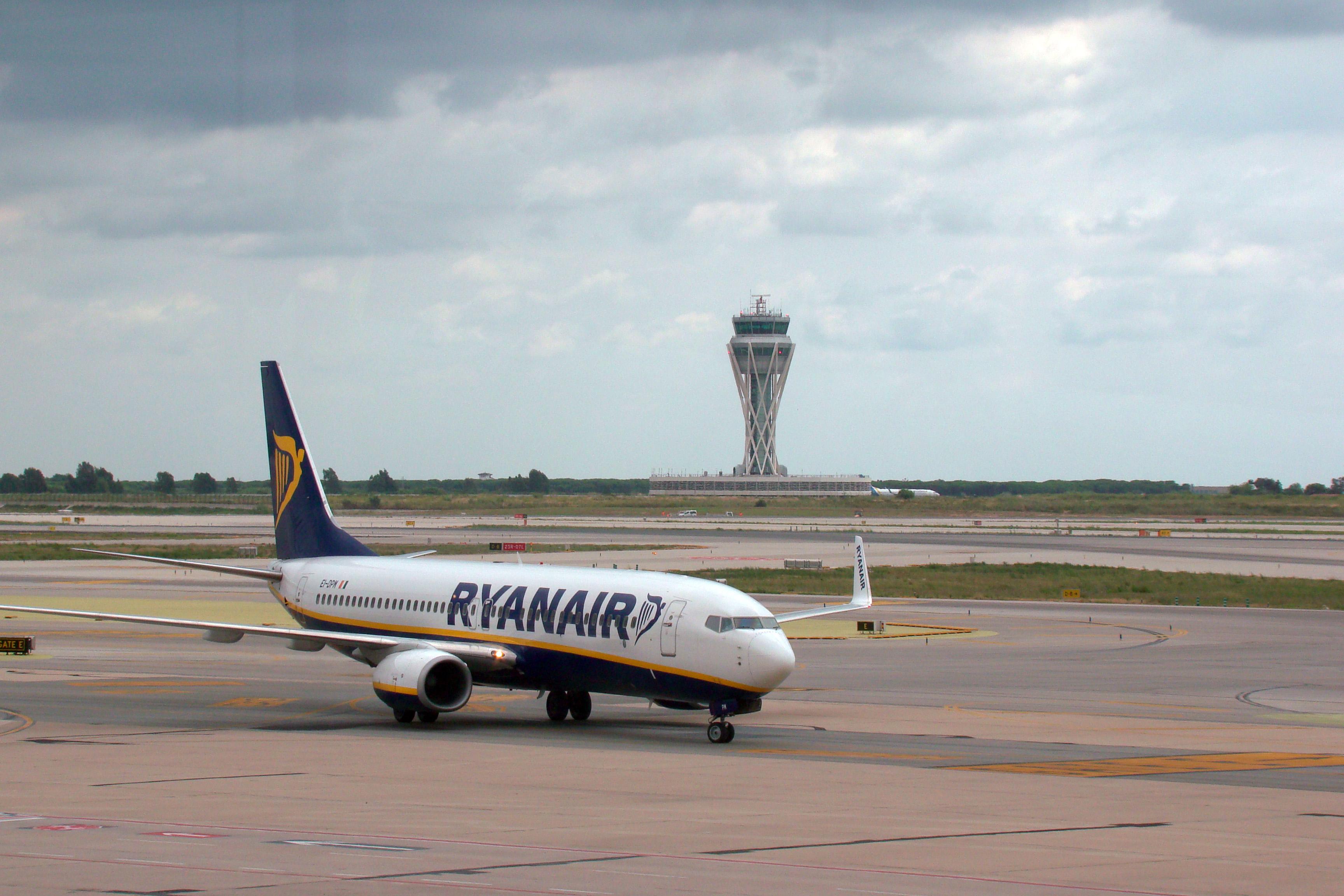 Ryanair en BCN