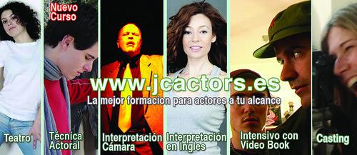 Curso de Interpretacion para camara y teatro