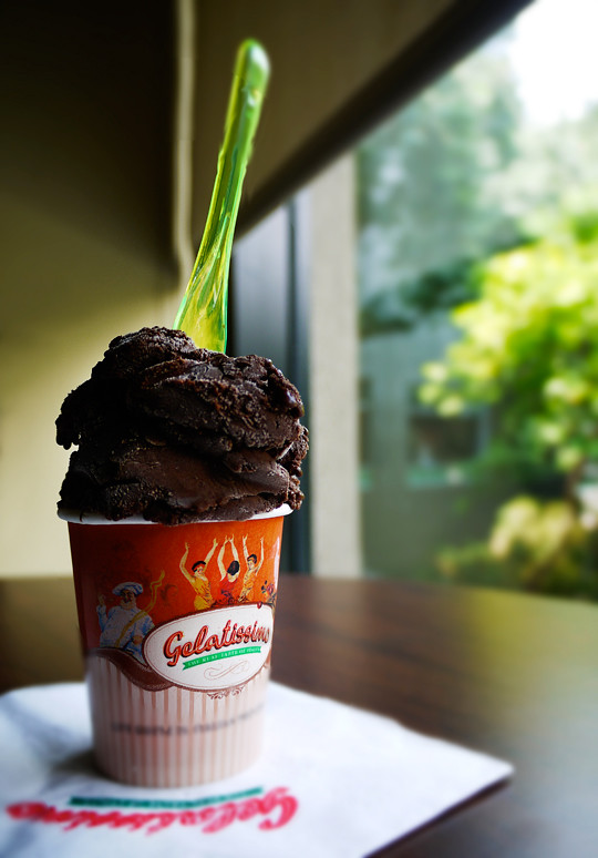 gelatissimo chocolate sorbet