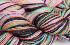 *sale*- World of Illusion on Peruvian Highland Wool 3.5 oz. (...a time to dye)
