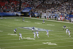 Georgia State receives to start first-ever game! (Debrian Media) Tags: blue atlanta red white green field georgia football stadium helmet kickoff panthers footballfield gsu facebook georgiadome shorter sideline collegefootball footballplayer footballstadium endzone 50yardline footballhelmet georgiastateuniversity georgiastatepanthers georgiasowncreditunion shorterhawks shorteruniversity