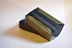 Rectangular Box with Band - Fuse (rebecccaravelry) Tags: origami box fuse tomokofuse