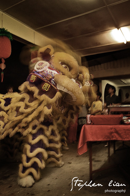 Movement Lion Dance