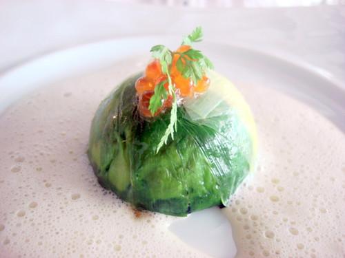 Nathalie Gourmet Studio - Crab n spinach charlotte