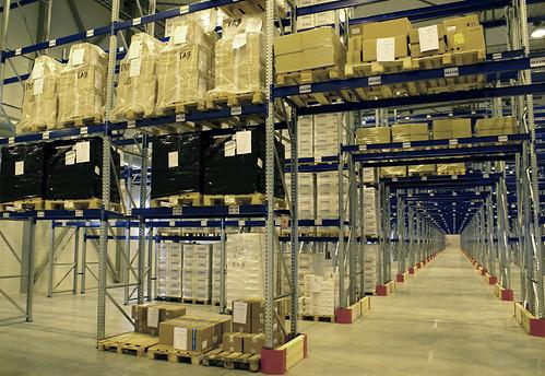3pl warehouse inside