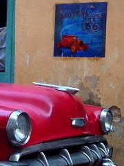 Chevy 1954 and Tony in Havana, Cuba (Urbanhearts) Tags: havana cuba tony lahavane anawesomeshot flickraward urbanhearts streetartwithoutborders