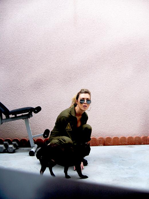 jumpsuit-top-gun-lovemaegan-leroy, french bulldog