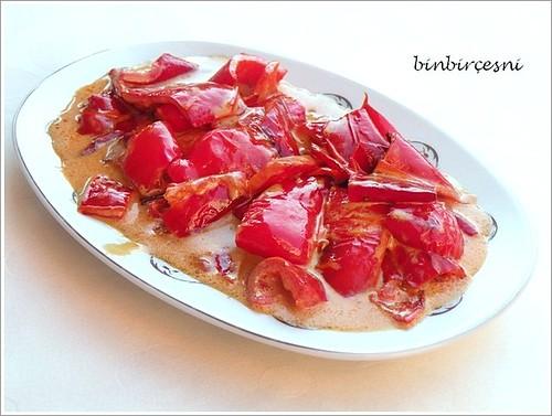 kremalı kırmızı biber sote (2)