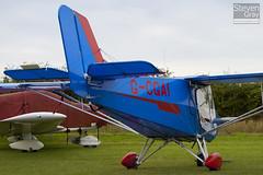G-CGAI - LAA 340-14813 - Private - Raj Hamsa X'Air Hawk - Little Gransden - 100829 - Steven Gray - IMG_2478