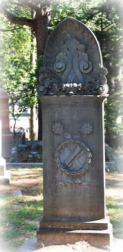 Alcott Family Gravestone