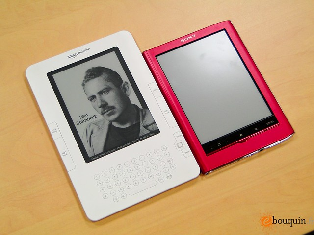Sony Reader (con E Ink para los ebooks)