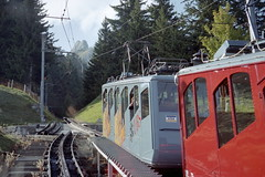 1998-09-23 Pilatus Funicular (beranekp) Tags: mountain schweiz switzerland suisse luzern eisenbahn railway pilatus funicular zahnradbahn zubačka