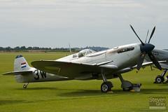 PH-OUQ - MK732 - CBAF.IX.1732 - Stichting Koninklije Luchtmacht Historische Vlucht - Supermarine 361 Spitfire LF9  - Duxford - 100905 - Steven Gray - IMG_6022