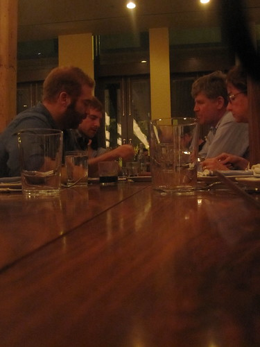 A group of diners at Publican