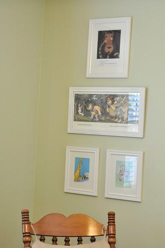 books in frames