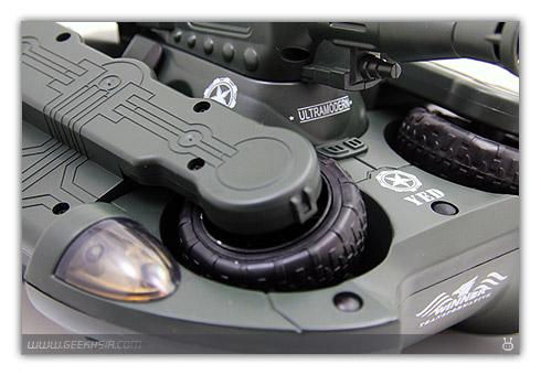 Tank Amphibie R/C avec Tourelle Air Soft Gun