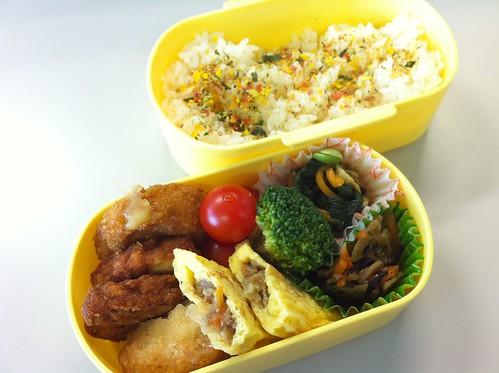 今日のお弁当 No.10 – 緑黄野菜