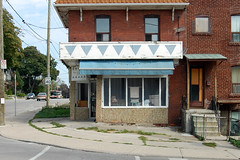 525 Carlaw Ave - September 7, 2010 (collations) Tags: toronto ontario abandoned architecture documentary vernacular storefronts streetscapes builtenvironment deadstores urbanfabric closedforbusiness emptystores formerstores
