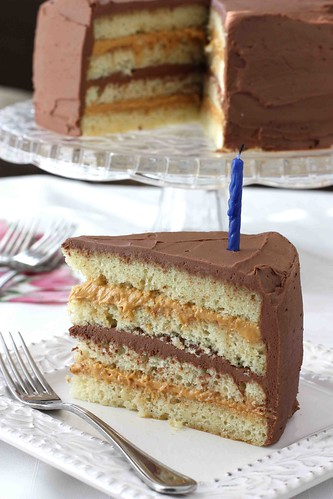 Chocolate & Dulce de Leche Birthday Cake Recipe - Cookin ...