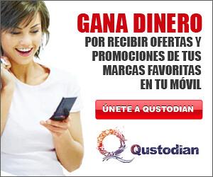 Ganar dinero con tu teléfono móvil con Qustodian